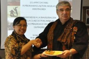 KBRI Madrid promosikan pencak silat Indonesia