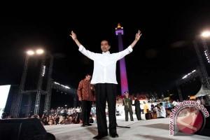 Dua tahun pemerintahan Jokowi-JK angka kemiskinan turun