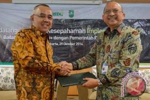 MoU Pengelolaan Hutan Riau