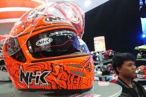 "Helm ""custom"" jadi senjata NHK di IMOS"