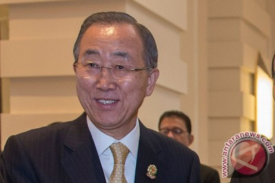 Sekjen PBB kunjungi negara terkena Ebola