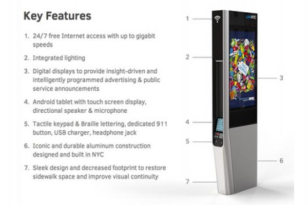 New York berencana konversi telepon umum dengan kios Wi-Fi