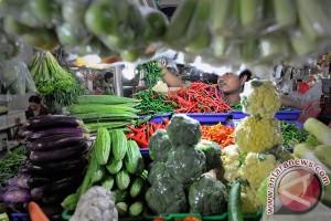 BPS: harga makanan terkendali hingga pertengahan April