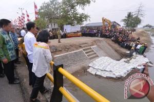 Iriana Widodo blusukan ke puskesmas Cirebon