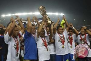 SBY ucapkan selamat kepada Persib Bandung