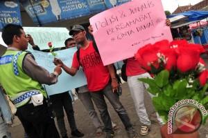 Aksi Solidaritas Wartawan Tegal