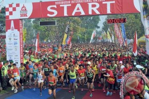 17 negara siap ramaikan Borobudur Marathon 2016