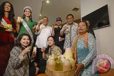 Tiga menteri canangkan kampanye minum jamu