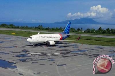 Bandara Ternate tertutup untuk penerbangan sampai Senin