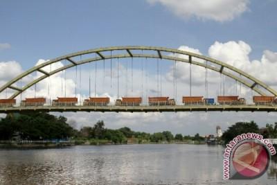 Loading Test Jembatan Siak III