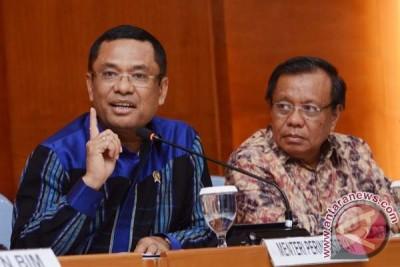 Jumpa Pers Menteri Perindustrian Akhir Tahun 2014