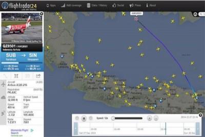 SAR Babel belum temukan tanda-tanda Air Asia QZ 8501