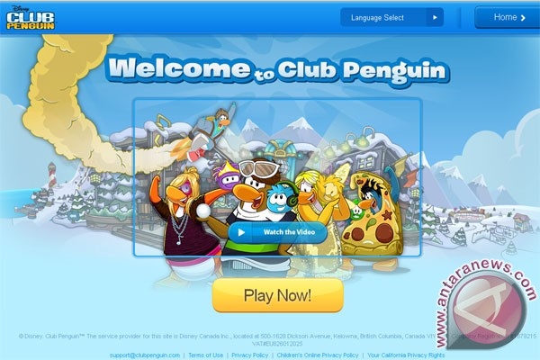 Disney rilis Club Penguin untuk Android
