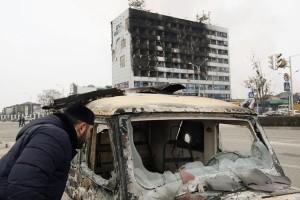 Belasan polisi tewas dalam bentrok Di Grozny Chechnya