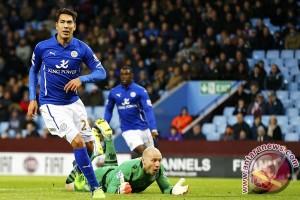 Bantai Swansea 4-0, Leicester makin dekat dengan gelar juara