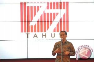 Ini pesan Jokowi di HUT LKBN Antara
