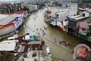 Banjir kembali landa Kabupaten Bandung