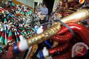Ribuan terompet Jawa dijual di Padang