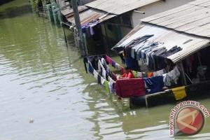 Genangan banjir Baleendah Bandun