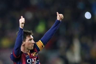 Messi dan Sasic terpilih sebagai pemain terbaik UEFA 2014-2015