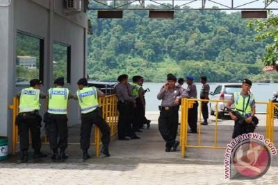 """Pengamanan Wijayapura ditingkatkan jelang kedatangan """"Bali Nine"""""""