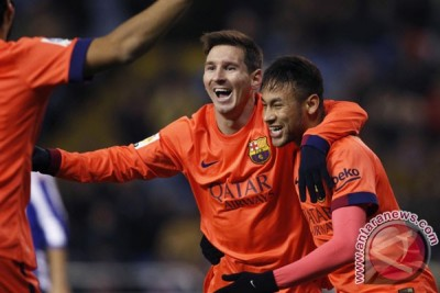 Barcelona pesta enam gol tanpa balas ke gawang Elche