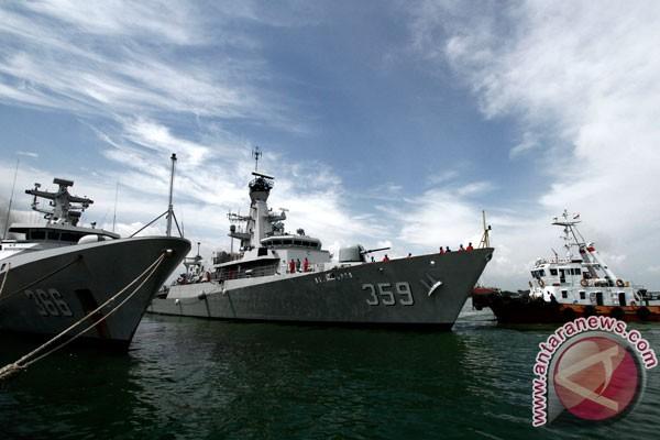 KRI Usman Harun-KRI Hasanuddin tiba di Thailand