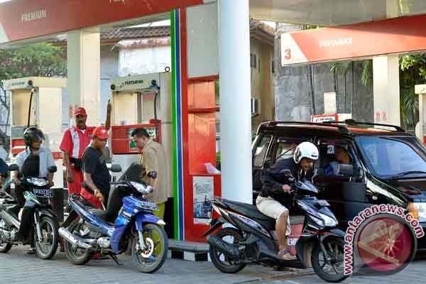 Harga premium di Bali mencapai Rp7.000 per liter