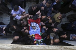 Remaja Palestina luka parah ditembak serdadu Israel
