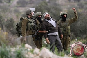 14 warga Palestina cedera dalam bentrok dengan tentara Israel