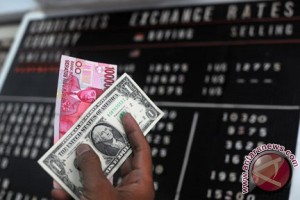 Kurs rupiah naik jadi Rp13.045 per dolar AS