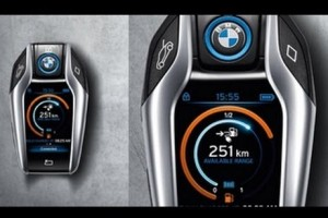 BMW perkenalkan remot kunci mobil berlayar sentuh