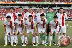 China melaju ke kualifikasi akhir Piala Dunia zona Asia