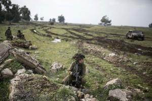 Israel serang posisi militer Suriah di Dataran Tinggi Golan