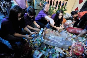Omzet Bank Sampah Makassar hampir Rp2 miliar