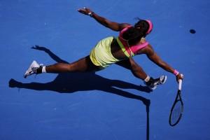 Serena atasi permainan Mladenovic