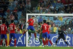 Korsel dan Australia ke babak tambahan karena imbang 1-1