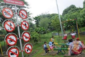 Taman Kaulinan Bogor dilengkapi 11 permainan anak