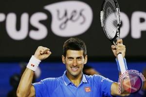 Djokovic singkirkan Federer untuk menuju final