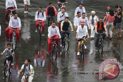 Jokowi Olahraga Sepeda