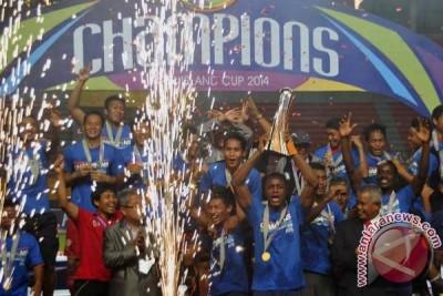 Arema Cronus juara Inter Island Cup