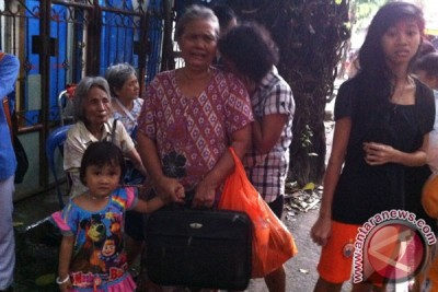 Kebakaran Jati Bunder Jakarta Pusat masih terjadi