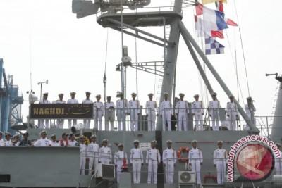 Kapal tempur Iran tiba di Jakarta
