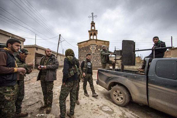 ISIS Dikepung Militer Turki Dan YPG Kurdi