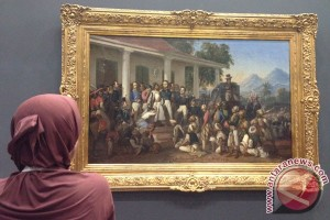 Hal baru terungkap dari restorasi lukisan Raden Saleh