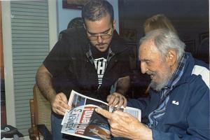 Fidel Castro hadiri acara peringatan ulang tahunnya di Havana