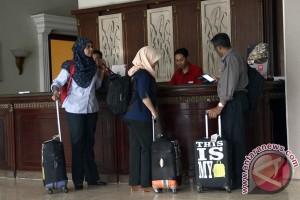 Tingkat hunian kamar hotel Bandarlampung turun