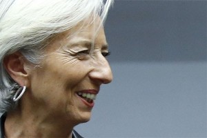 IMF tegaskan kedatangan Lagarde tidak bicarakan pinjaman