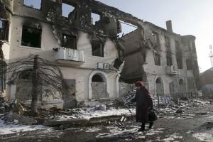 Puluhan orang tewas akibat pertempuran sengit di Ukraina Timur