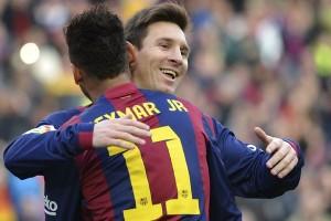 Neymar yakin Messi bertahan di Barcelona